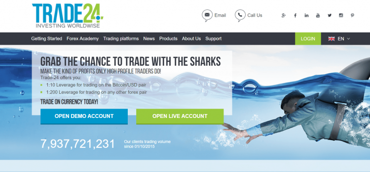 Trade-24 Review – 100% Scam Brokerage Exposed!
